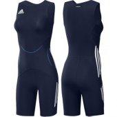 Adidas Wr Suit Classic W Bayan Güreş Mayo Blue X34974