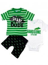 Nazar Baby Timsah Modelli Bebek Takım 3 6 12 18 24 Ay