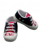 Pamily Baby Love Yazılı Patik Ayakkabı (18 No 4 8 Ay) (19 No 8 1