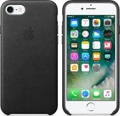 Fonemax Apple İphone 7 8 Deri Kılıf Siyah