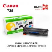 Canon İ Sensys Mf3010, Crg725 Printpen Siyah Muadil Toner Kartuş
