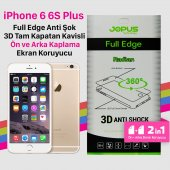 Jopus İphone 6 6s Plus 2in1 Kapatan Ekran Koruyucu Film Kılıf