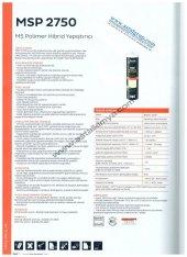 Bostik 2750 Ms Yapıştırıcı,25 Adet ,400 Gram, Beyaz Veya Siyah Renk, Gıda Ürünlerine Uygundur, Alman Dın 52452 Normlarına Uygun