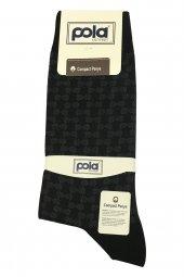 Pola P 623 Foça Erkek Compact Penye Soket Çorap