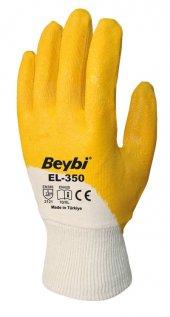 Beybi Nitril Eldiven, 60 Çift Fiyatı, El 350 Nitril Eldiven,iş Ve Usta Eldiveni, Renk Sarı No 9 Veya 10