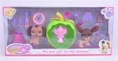 Petshop Minişler Puppy Clup Oyuncak Seti 7x7