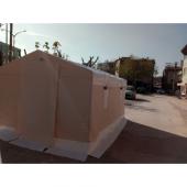 Arıcı Bal Sağım Çadırı 3x4 M Dik Açılı