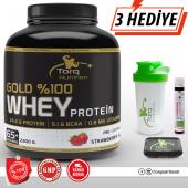 Torq Gold Whey Protein Tozu 2300 Gr Çilek Aromalı Skt 11 2020