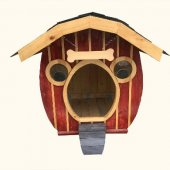 Orjinal Kendi İmalatımız Ahşap Köpek Kulübesi