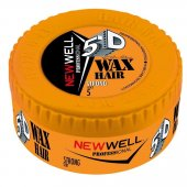 New Well Professional 5d Wax Hair Strong Sert 5 150 Ml