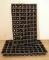 Fide Viyolu 70 Gözlü 100 Adet Fide Yetiştirme Kabı Tohum Çimlendirme Viyolü Fide Yetiştirme Viyolü Plastik Fide Viyolü Fide Viyol