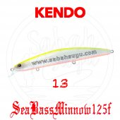 Kendo Seabass Minnow 125f 12.5cm 21gr. Sahte Balık Renk 13