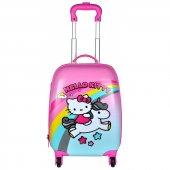 Hello Kitty 95725 Orjinal Lisanslı Abs Çocuk Valizi