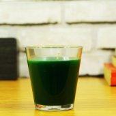 Yeşil Renk Bardak Mum