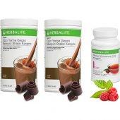 Herbalife 2 Çikolata Shake Ahududu Çay 50 Gr