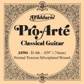 Daddarıo Klasik Gitar Tek Teli J4504 , Pro Arte, Dadario