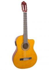 Valencia Vc254ce Naturel 4 4 Elektro Klasik Cutaway Gitar