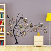 Dekorloft Aile Soy Ağacı Fotoğraf Albümü Duvar Sticker Xl Ds 175
