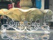 Pleksi Masa İsimliği Gümüş Veya Altın