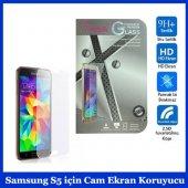 Samsung S5 İçin Cam Ekran Koruyucu