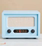 Nostaljik Görünümlü Gerçek Radyo Mavi