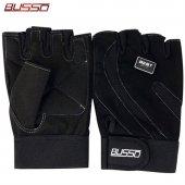 Busso Best Fit Siyah Body Fitness Ağırlık Eldiveni