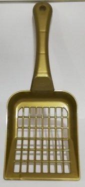 Cleday Gold Kedi Kumu Küreği Geniş Aralıklı