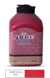 Artdeco 500ml 3019 Kadife Kırmızı Yeni Formül Akrilik Boya
