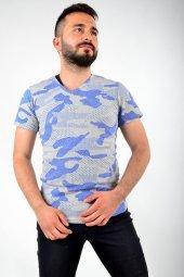 V Yaka Saks Tshirt