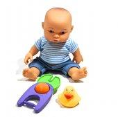 24 Cm Çıngıraklı Fonksiyonlu Et Bebek 1101