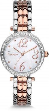 Freelook F.3.1025.03 Rose Beyaz Taşlı Çelik Bayan Kol Saati