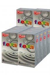 Fiesta Prezervatif 72 Adet Vibe Uzun Geceler Condom + 12 Halka Hediye