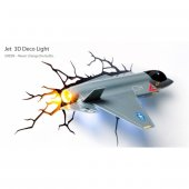 3d Jet Fighter 3d Deco Light 3d Dekoratif Duvar Lambası