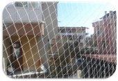 Kuş Filesi 2,5x8 20 M2 Kuş Ağı Balkon Ağı Balkon Filesi Güvercin Ağı Güvercin Filesi Kuş Önleme Filesi Güvercin Önleme Filesi