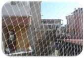 Kuş Filesi 5x11 55 M2 Kuş Ağı Balkon Ağı Balkon Filesi Kuş Önleme Filesi Güvercin Filesi Güvercin Önleme Filesi