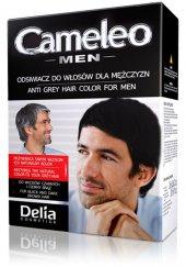 Cameleo Beyaz Kapatıcı Boya Siyah Erkekler İçin 30 Ml