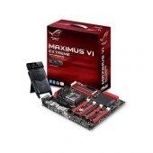 Asus Maxımus Vı Extreme Z87 Intel Z87 3100mhz(Oc) Ddr3 Soket Lga1