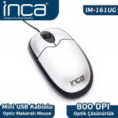 ınca Im 161u Usb Optic Mouse Gümüş