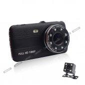 Angeleye 521 Fullhd 1080p Çift Kamera Araç İçi Güvenlik Kamerası