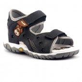 Canım Bebe Gri Günlük Sandalet Terlik Erkek Çocuğu Ayakkabı