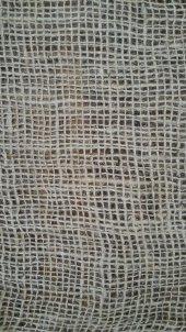 Telis Bezi Kanaviçe Kumaş 1x10 10 M2 7lik Sık Dokulu Jüt Kumaş Süsleme Kumaşı Kendir Kumaş Çuval Kumaşı