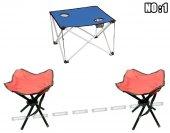 2 4 6 Kişilik Kamp Seti Piknik Seti Kamp Masası Kamp Sandalyesi