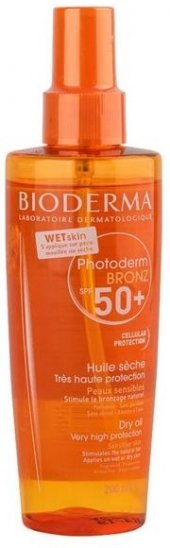 Bioderma Photoderm Bronz Brume Dry Oil Spf 50+ 200 Ml Skt 01 2020