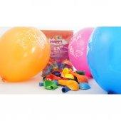 15 Adet İyiki Doğdun Baskılı Rengarenk Balon