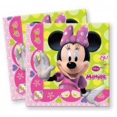 Minnie Bow Tique Kağıt Peçete 20 Adet
