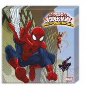 Spiderman Kağıt Peçete 20 Adet
