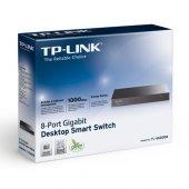 Tp Link Tl Sg2008 T1500g 8t 8port Gigabit Switch