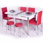 Mutfak Masa Sandalye Takımı Yemek Takımları Mutfak Set Cam