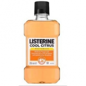 Listerine Cool Citrus Mouthwash Gargara 250 Ml