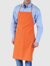 ön Önlük Mutfak Garson Aşçı Komi İş Önlüğü Boyundan Askılı Unisex